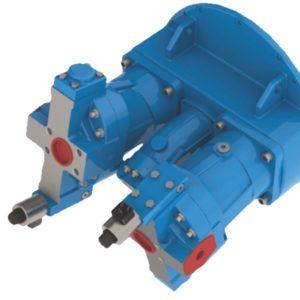 Гидронасос 311.224 (насосный агрегат) с регулятором мощности