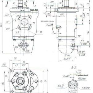 Насос шестеренный НШ 50-10-10Д-3 / НШ 50-10-10Д-3Л